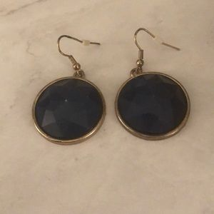 Francesca's Dark Navy Earrings